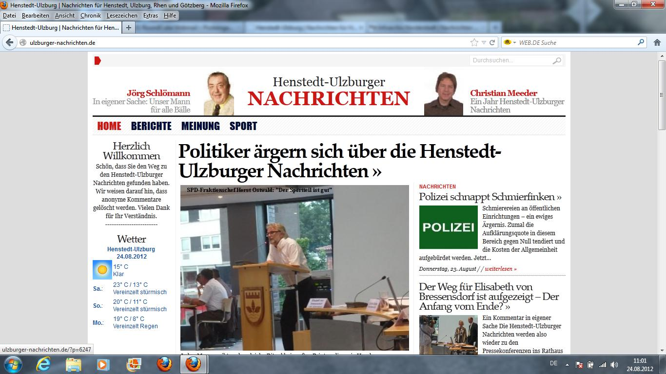 Nachrichten Norderstedt